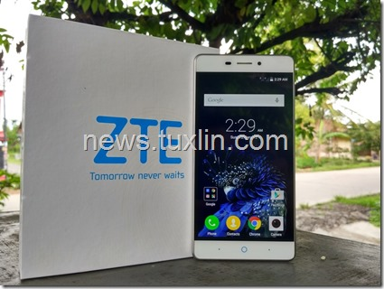 Unboxing ZTE Blade A711