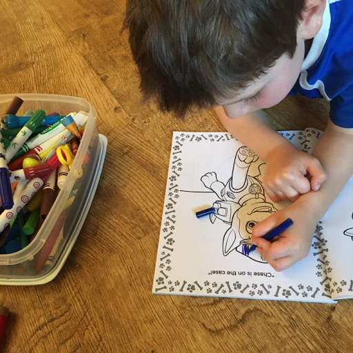 Fun Paw Patrol After School Mat And Weebles Pull Amp Play
