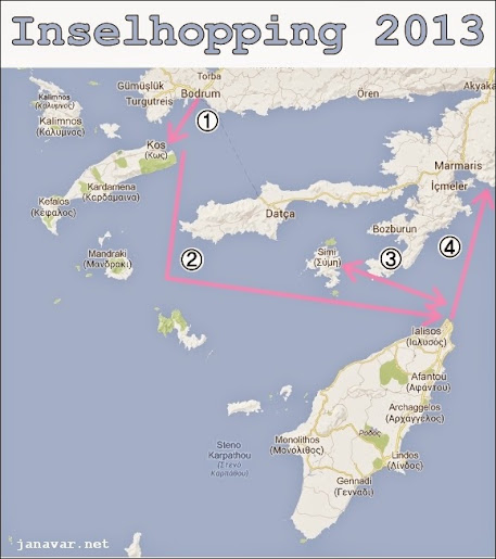 Urlaub 2013: Griechische Inseln