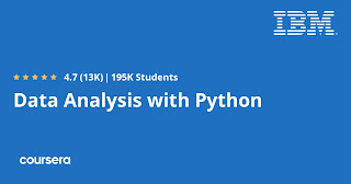 Free Coursera Course to learn Data Analysis with Python
