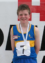 Photo: Daniel Ryan who won a National Silver medal for Tipperary in the Boys U/14 80m Hurdles at the National Community Games Finals 2011