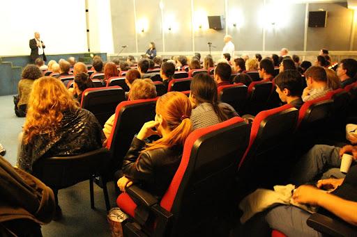 COSMOS de Carl Sagan - Evenimentul editorial al anului 2014 - Cinemateca - Sala Union - Bucuresti 2014
