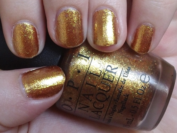 Golden Rules Comes From Opi S Night Brights Collection And Is A Muted Gold With Bit Of Shimmer In It The Shade One That You Can Wear Everyday Too