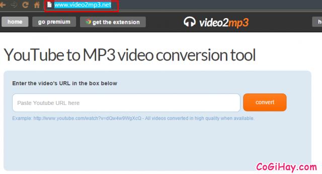 chuyển youtube thành mp3