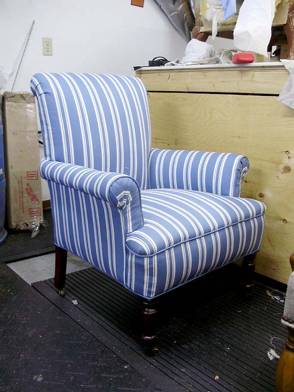 Beau This Chair Matches The Owneru0027s Other Blue Striped Chair (same Fabric) Seen  Here: