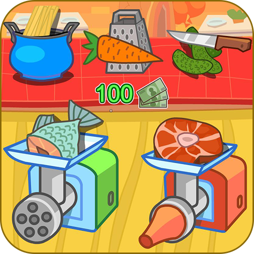Cook dinner restaurant game Icon