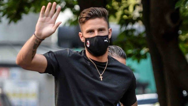 OLIVIER GIROUD SET TO MOVE TO AC MILAN; BIDS FAREWELL TO CHELSEA ON SOCIAL MEDIA