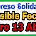 ¿Qué se sabe sobre los 160.000 pesos  en abril para el Ingreso Solidario 2021?