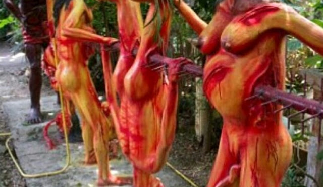 NGERIIH! Kuil Neraka di Thailand, Ada Tubuh-tubuh disiksa S*dis