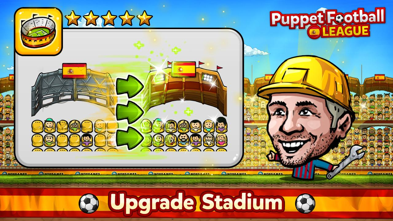 Puppet Football Spain CCG/TCG- screenshot