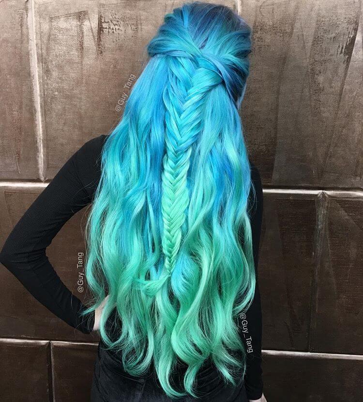 Popular Amp Magical Mermaid Hair Ideas For 2018 Summer Styles Art