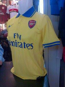 Jual Jersey Arsenal Away Terbaru 2014