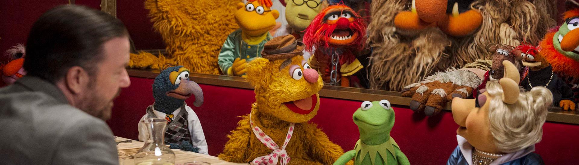 Baner filmu 'Muppety - Poza Prawem'