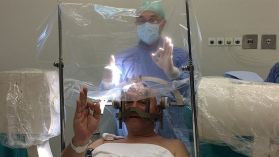 Beyin Pili Ameliyatında Selfie