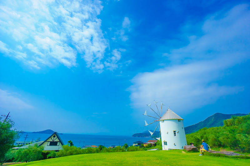 Shodoshima Olive Park, Greek windmill 1