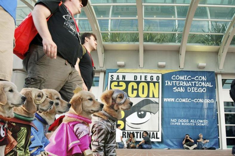 Disney's Super Buddies Arrive at Comic-Con
