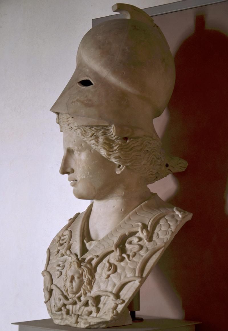 Busto di Atena w