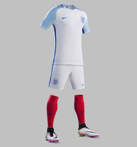 1d1d9b36cf6 The most recent home kit released by Nike featured a plain white shirt with  a v-collar but for the Euros Nike will have a little more blue on what is  likely ...
