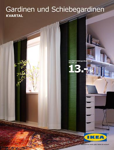 Gardinen Wohnzimmer Ikea : Gardinen Und Schiebegardinen Von Ikea .