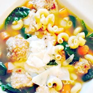 Italian Wedding Soup {21 Day Fix}.
