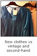 Pros and cons of new clothes vs vintage and second-hand