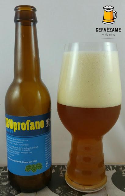 cerveza Reptilian Ibuprofano beer cervezame