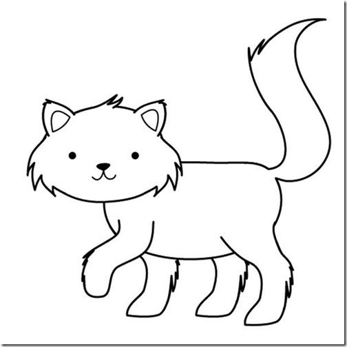 gatos colorear jugarycolorear (6)