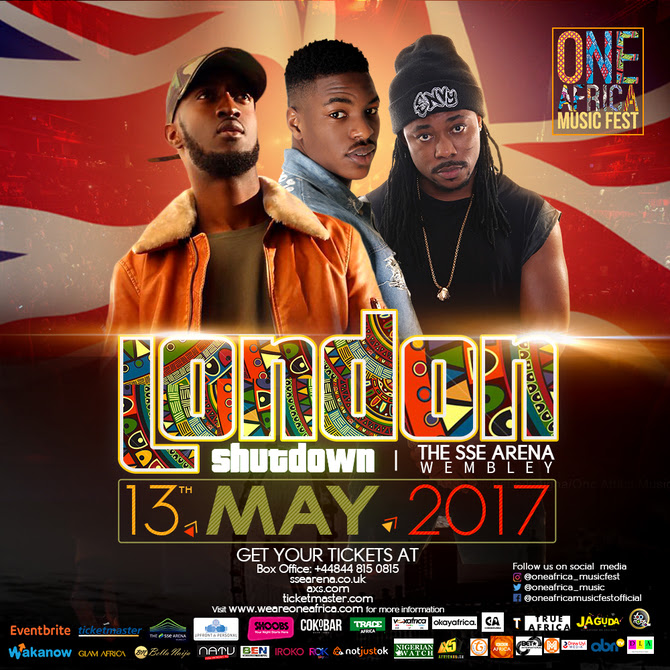[NEWS]: EUGY, SONA AND ATUMPAN CONFIRMED FOR ONE AFRICA MUSIC FEST LONDON