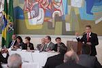 Na reunião do Pleno do Conselho de Desenvolvimento Econômico e Social