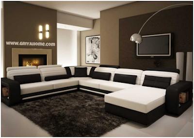 Desain Interior Ruang Tamu Modern