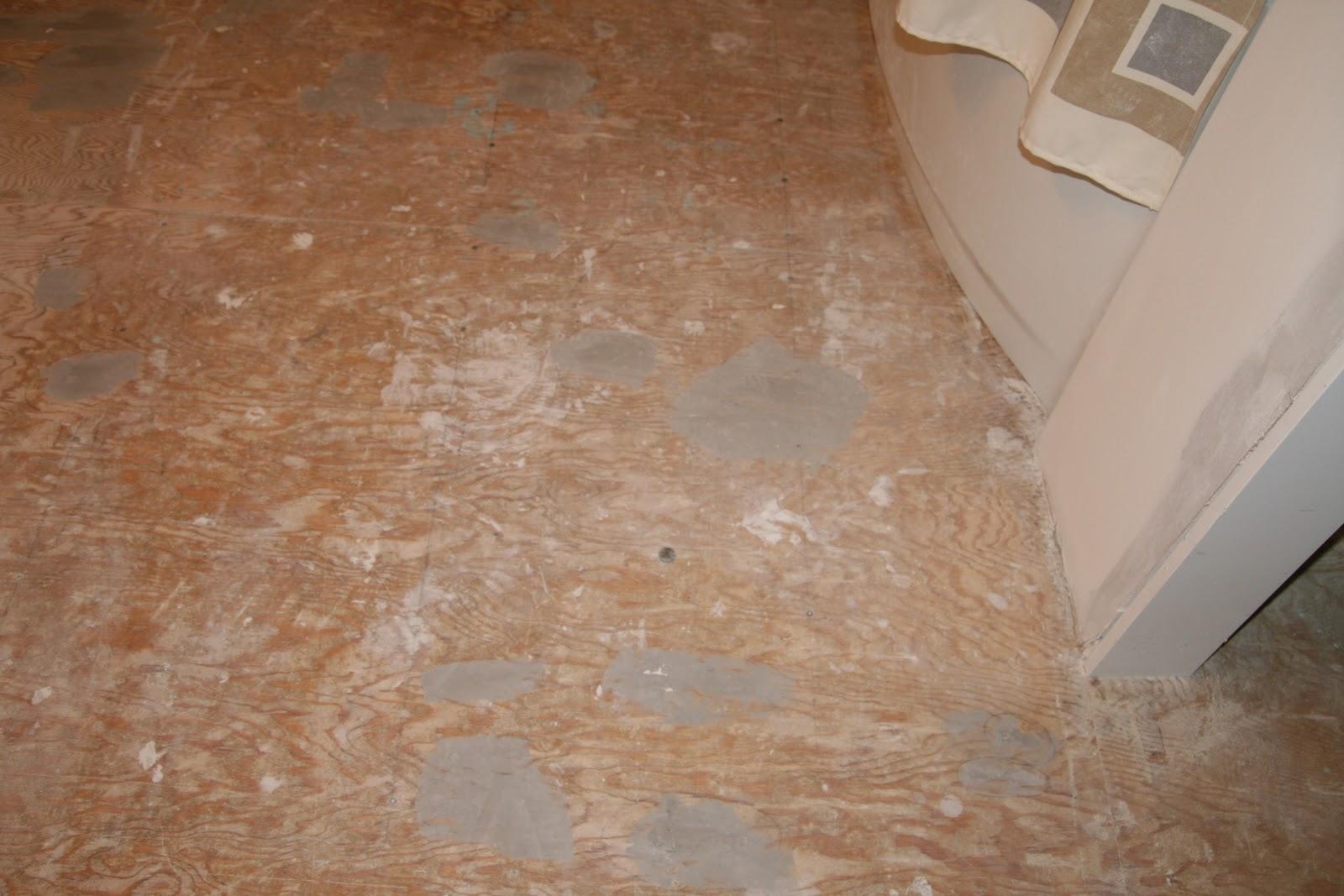 Squeaky39s bathroom reno for Squeaky bathroom floor