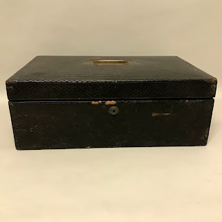 Parkins and Gotto Leather Jewelry Box