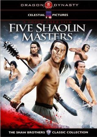 Five Shaolin Masters - Thiếu lâm ngũ hổ