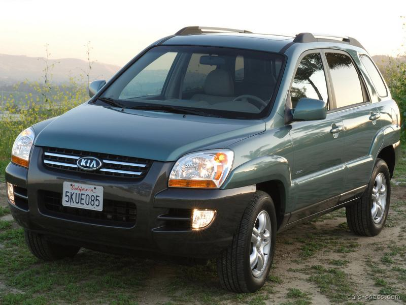 2005 Kia Sportage SUV Specifications, Pictures, Prices