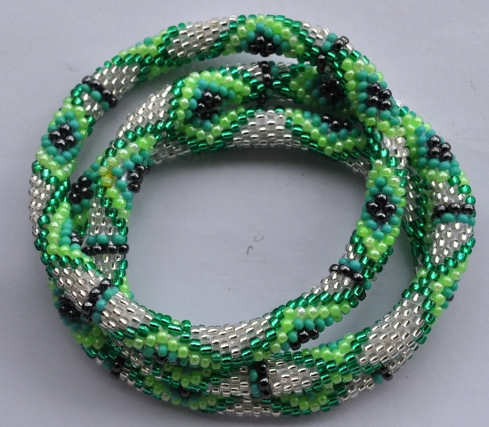 Rollover Glass Bracelets