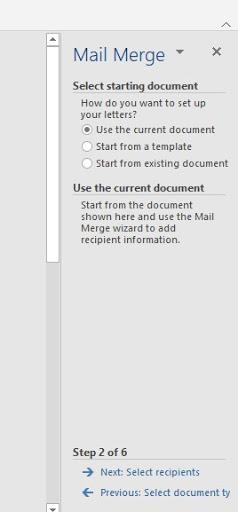 cara membuat mail marge