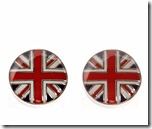 Union Jack Cufflinks by Simon Carter