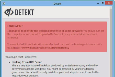 Detekt, herramienta de código abierto anti vigilancia