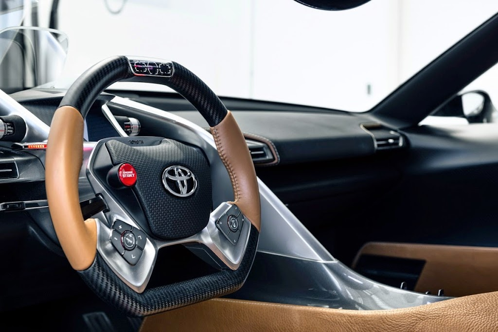 Toyota FT1 Concept New Supra Pebble Beach Monterey020