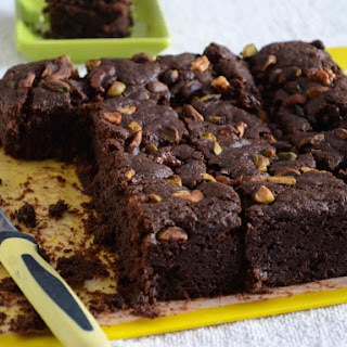 Eggless Chocolate Fudge Brownie