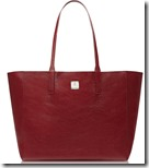MCM Ruby Leather Reversible Tote