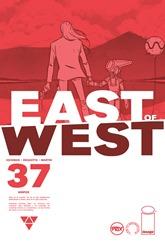 Actualización 14/05/2018: Se agrega el número #37 de East of West, por GinFizz para Prix-Comics y How To Arsenio Lupin. La cacería ha comenzado. El Ranger está tras de los Elegidos.