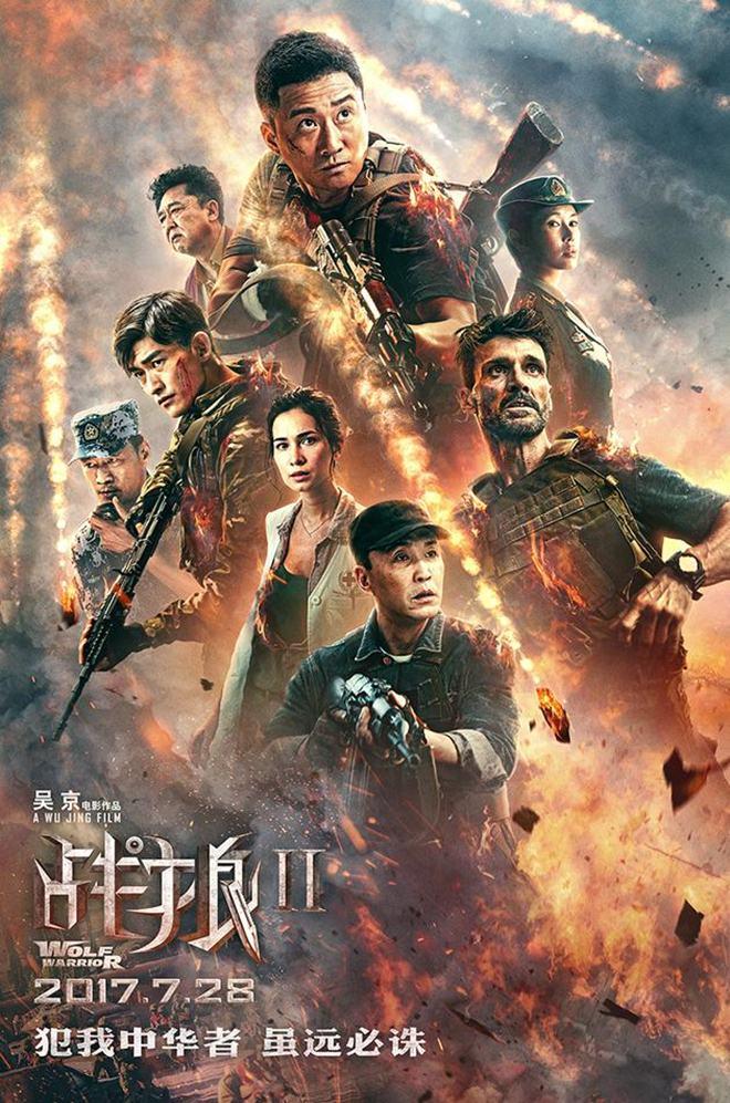 Chiến Lang 2 - Wolf Warriors II (2017)
