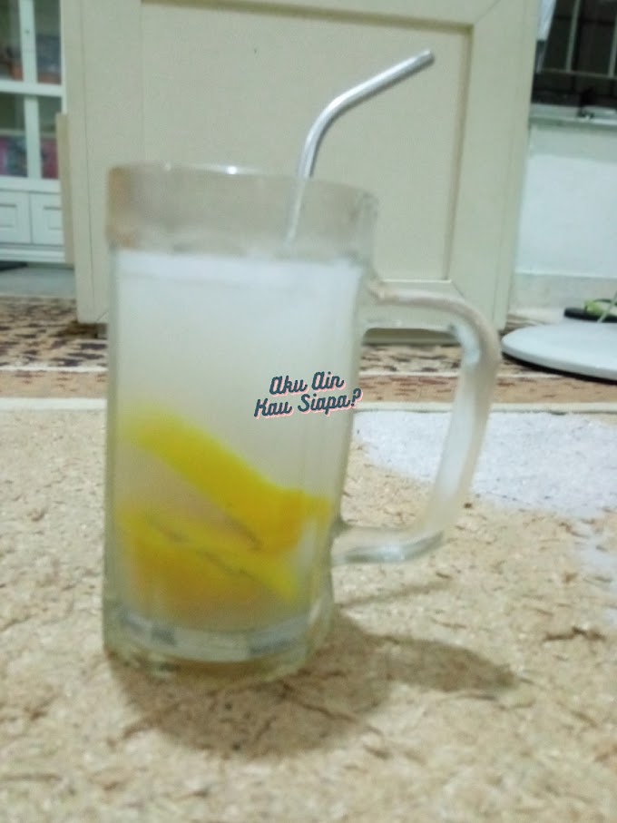 Tak Perlu Beli , Ini Cara Mudah Buat Air Lemon Asam Boi Sedap Menyegarkan !