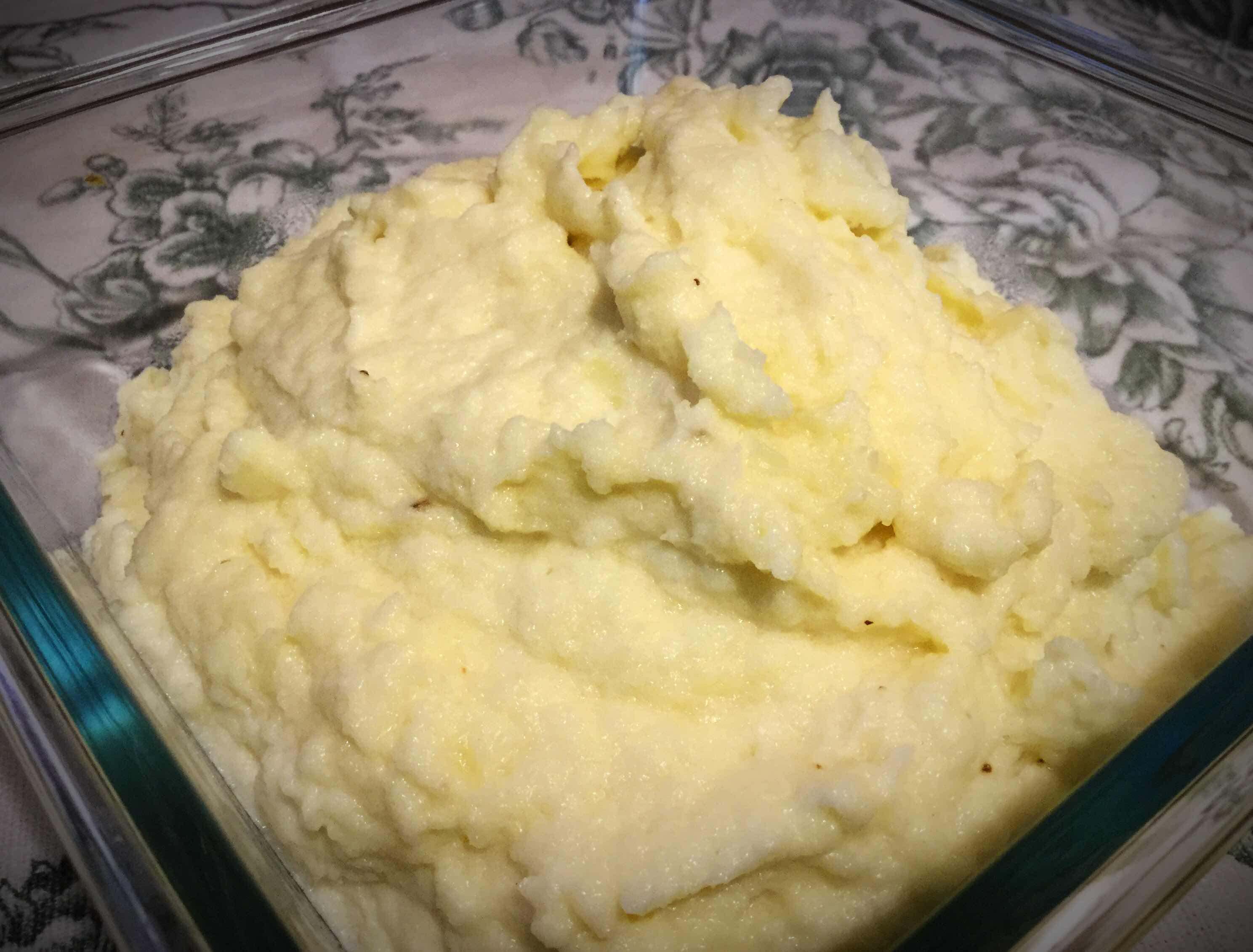 Perfect Mashed Cauliflower