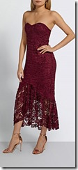 Missguided Fishtail Lace Dress