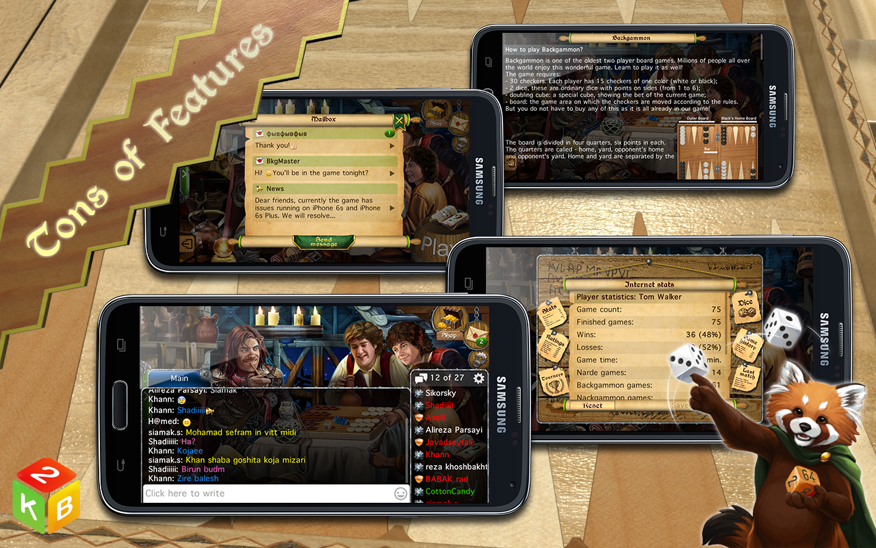 Backgammon Masters Free- screenshot