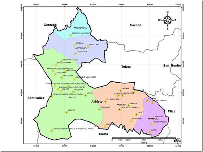 Arbieto: municipio cochabambino (Boliva)