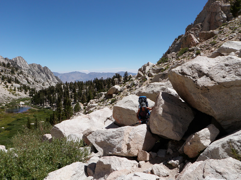 Mount Whitney • Lower Boy Scout Lake