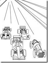 colorear coches de carreras (1)